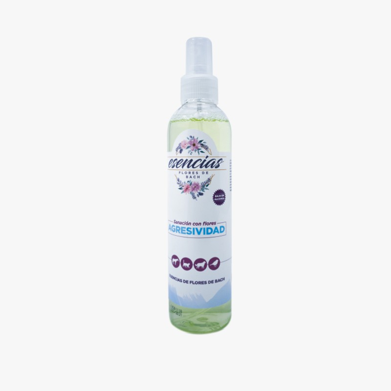 Esencias Florales de Bach Agresividad Spray