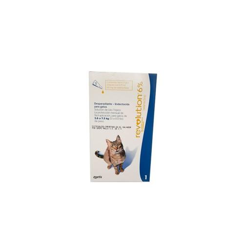 Antipulgas Revolution 6% para gatos