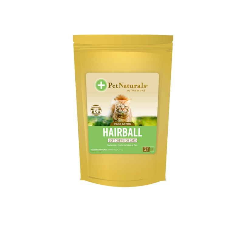 Nutracéutico para gato Hairball Pet Natural
