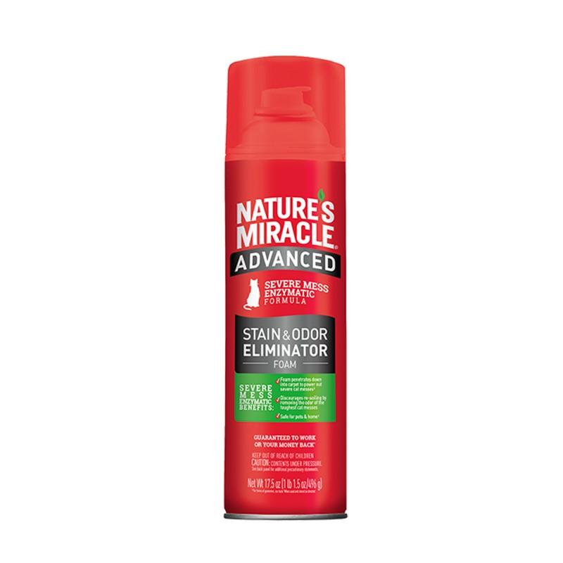 Removedor manchas y olores de gato Nature Miracle Aerosol