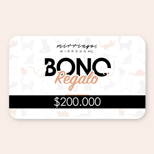 Bono virtual de regalo x $200.000
